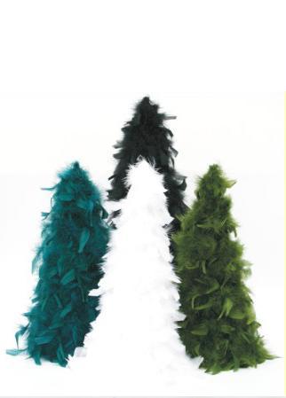 turkey Feather Trees