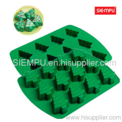 Silicone Christmas Tree Cake/Muffin Mould (SP-SB021)