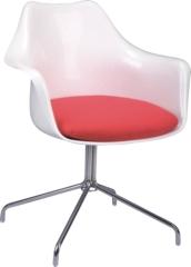 Aluminum Base Tulip armchair
