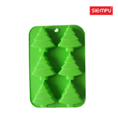 Silicone Christmas Tree Cake/Muffin Mould (SP-SB022)