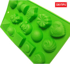 Assorted Silicone Miffin/Cake Cup Mould (SP-SB025)