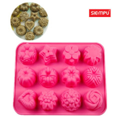 Silicone Flower Miffin/Cake Cup Mould (SP-SB027)