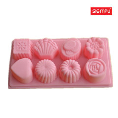 Silicone Flower Miffin/Cake Cup Mould (SP-SB028)