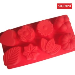 Silicone Flower Miffin/Cake Cup Mould (SP-SB029)