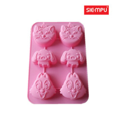 Animal Silicone Miffin / Cake Cup Mould (SP-SB031)