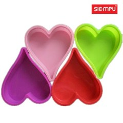 Silicone Heart Cake Mould (SP-SB043)