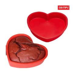 Silicone Heart Cake Mould (SP-SB044)
