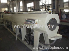 plastic pipe extrusion line from China