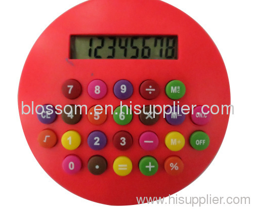 Candy calculator in school and officeCandy plastic digital c