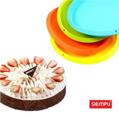 Silicone Round Cake Mould (SP-SB047)