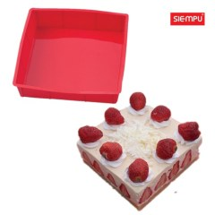 Silicone Square Cake Mould (SP-SB053)