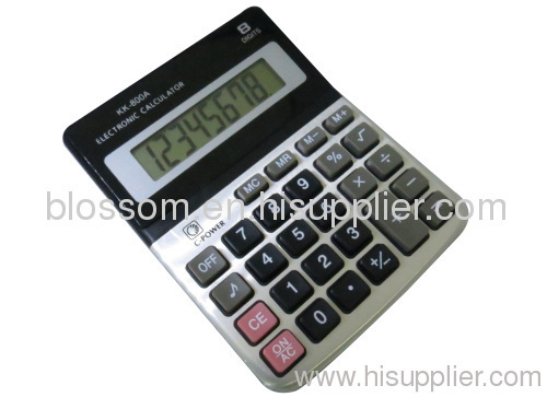 Electronic Calculator in office