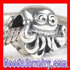 European Octopus Charms Beads