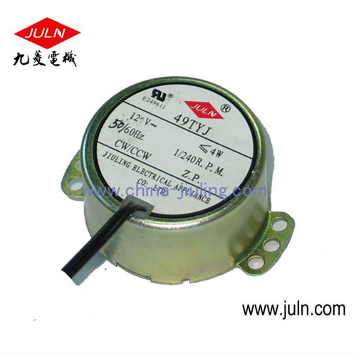 Low Speed Synchronous Motor From China Manufacturer Cixi