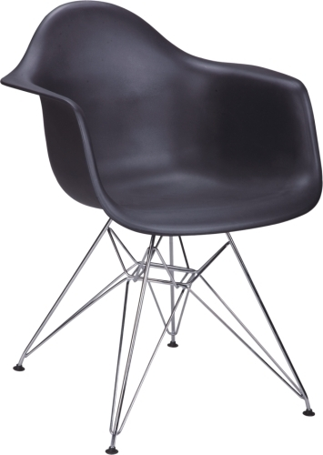 PP Eames DAR armChair with Steel Base