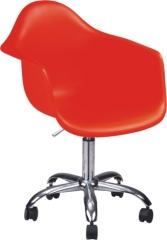 Gas Lift Polypropylene classic swivel eames armchair