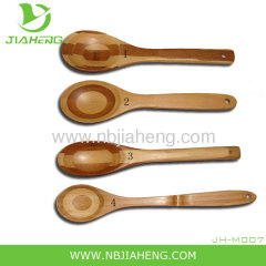 Moso Bamboo 5pc Kitchen Utensil Set harder than maple Turner Spatula