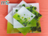 Tempered glass plate