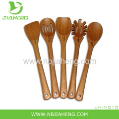 Pampered Chef Bamboo Spoon Set and Spatula Set