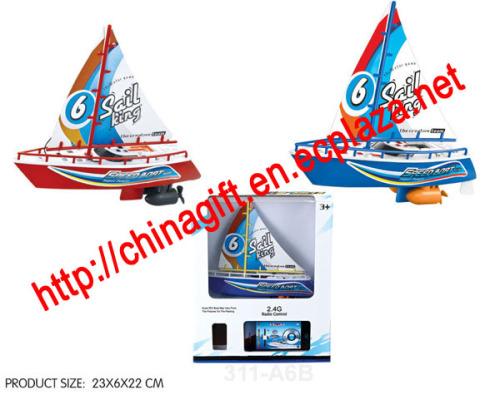 2.4G Iphone Radio Control Sailboat