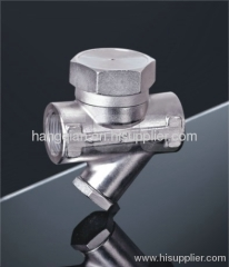 thermodynamic steam trap