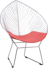 morden design leaflike Wire Lounge Chair