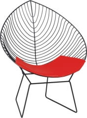 lovely Wire Lounge Chair