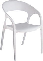 simple Cutout leisure PP Chair