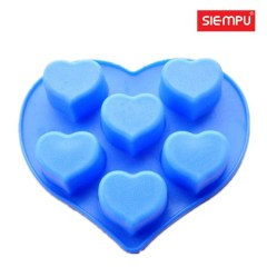 Silicone Heart Cake Mould (SP-SB076)