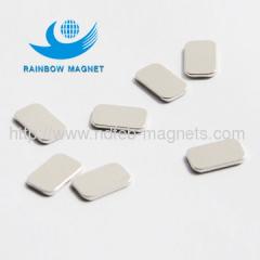 Neodymium Iron Boron square thin magnet