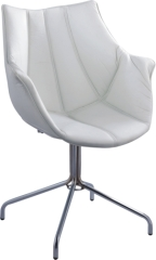 ABS Seat With PVC Cover Fashion lounge Chair