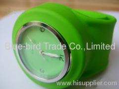 unisex slap silicone watch