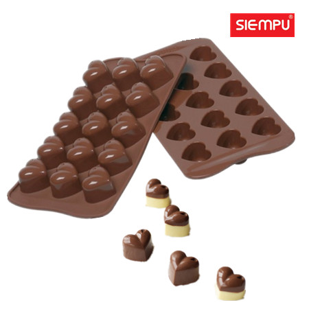 Silicone Heart Chocolate Mould (SP-CM001)