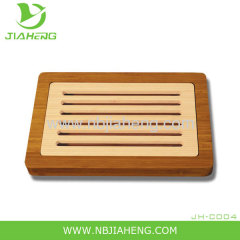 ECO-FRIENDLY BAMBOO MAGNETIC CHEESE BOARD AND CUTTER BOX