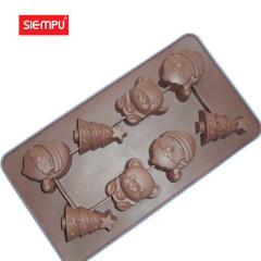 Silicone Christmas Chocolate Mould (SP-CM005)