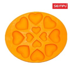 Silicone Heart Ice Cube Tray (SP-IT005)