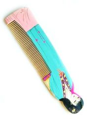 wood comb for hair