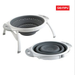 Collapsible Silicone Strainer/ Colander (SP-SC010)