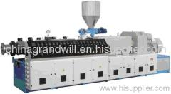 Conical and parallel Twin screw extruder