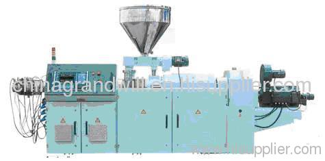 SJS80 Parallel twin screw extruder