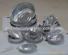 Disposable Aluminum foil food container
