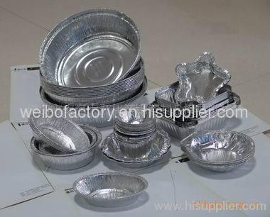 Disposable Aluminum foil food container