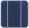 5 inch Monocrystalline solar cell, 2.229W-2.864W