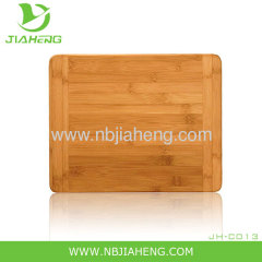 Island Bamboo 8 Inch Cheese and Bread Platter Cutting Board