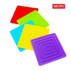 Silicone Square Trivet Mat (SP-MT011)