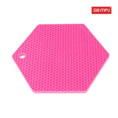 Silicone Polygon Trivet/Mat (SP-MT015)