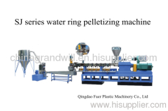 PET water ring pelletizing production line