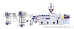 PVC film pelletizing production line