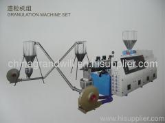 PVC wood plastic pelletizing production line