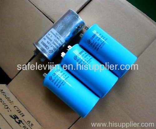 Self healing ac motor running capacitor